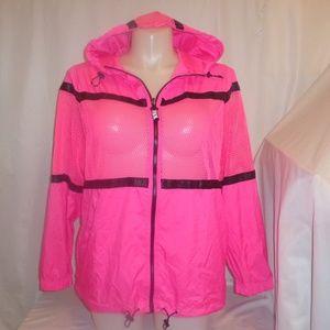 VS Pink M/L Jacket Anorak Windbreaker Hoodie Zip